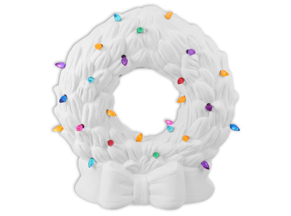 Classic Lighted Wreath