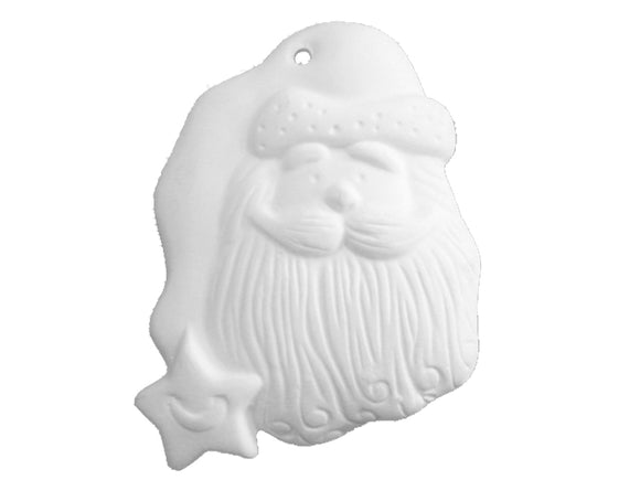 Santa Star Hat Ornament
