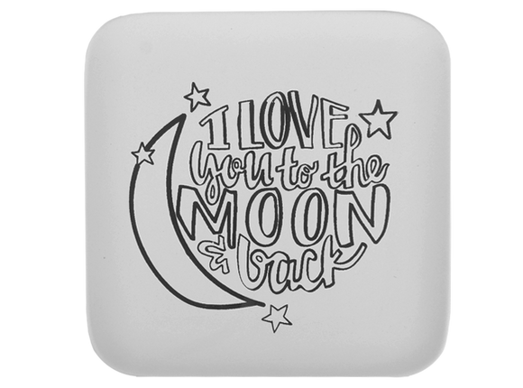 To the Moon Plate CB