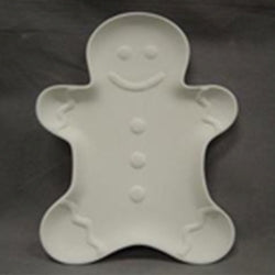 Gingerbread Person Platter