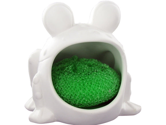 Frog Scrubbie Holder