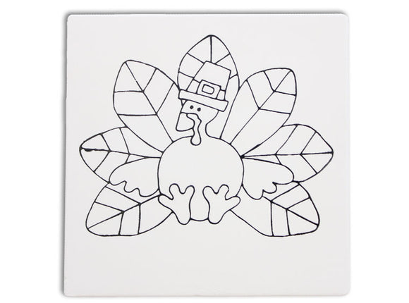Turkey Tile Coloring Book