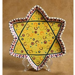 Star of David Plate