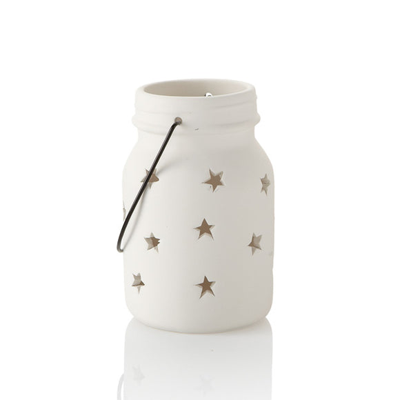 Star Jar Lantern - Medium