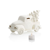 Vintage Truck with Tree VOTIVE