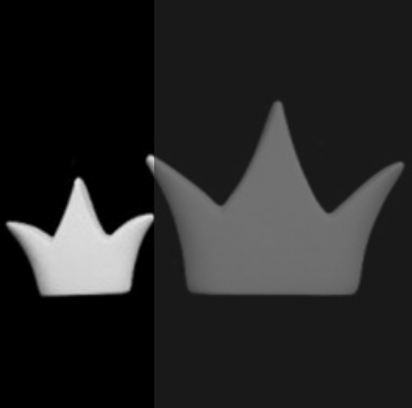 Small Crown Charm