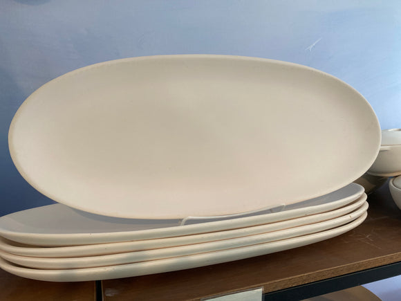 Large Oval French Bread Plate