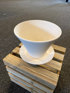 Large Flower Pot w/drip tray