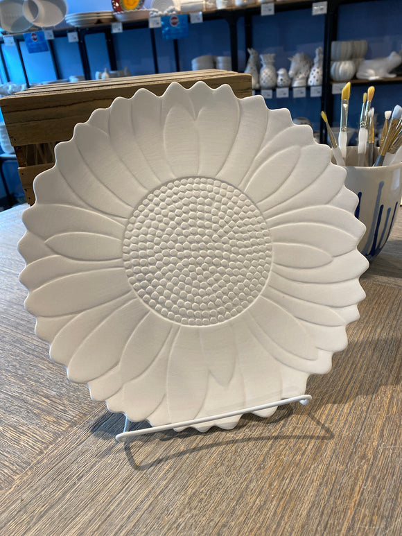 Large Sunflower Plate