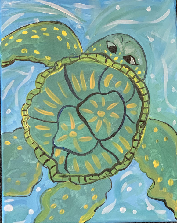 Turtle Canvas