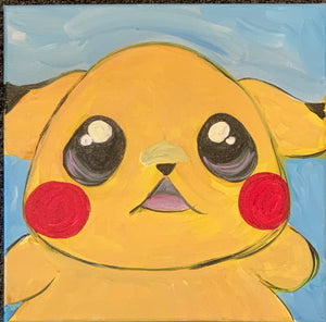 Pikachu Canvas