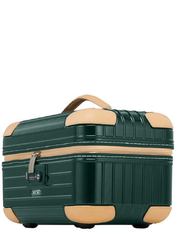 Rimowa Bossa Nova Beauty Case - Jet Green/Beige