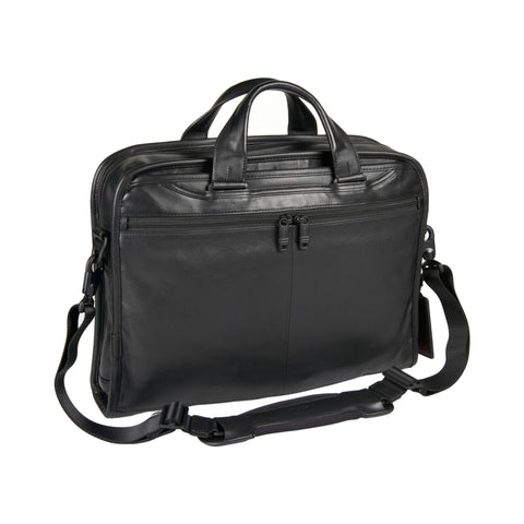 Tumi Alpha 2 Organizer Portfolio Leather Brief