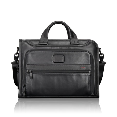 Tumi Alpha 2 Slim Deluxe Leather Portfolio