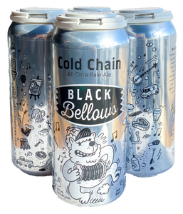 Black Bellows - Cold Chain All Citra Pale Ale - 5.5% - x 4 Pack