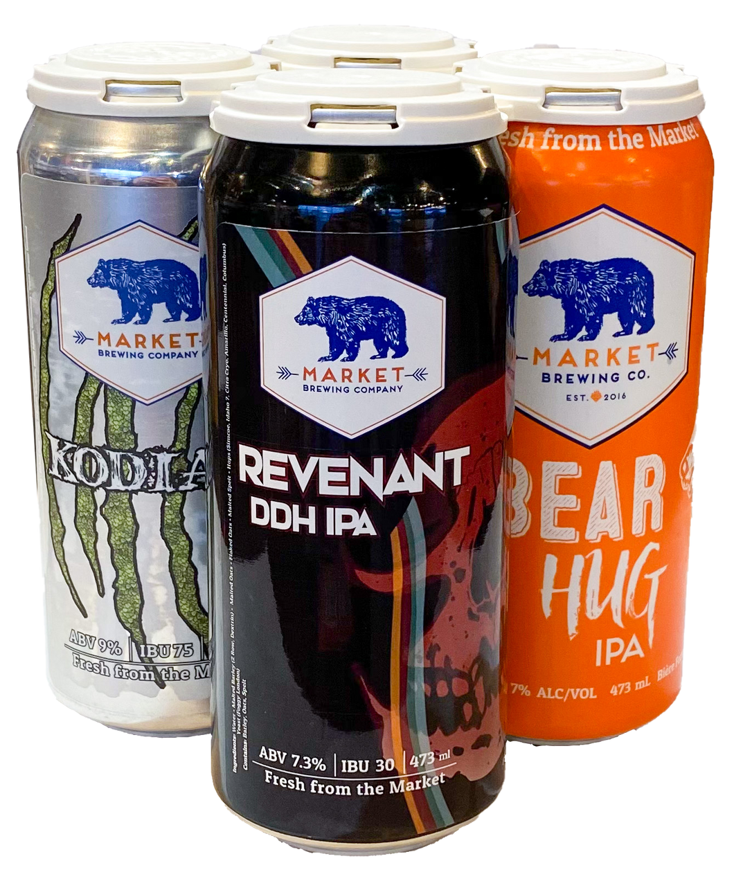 Bear Hug's Birthday Mixed IPA 4 Pack - $17.75