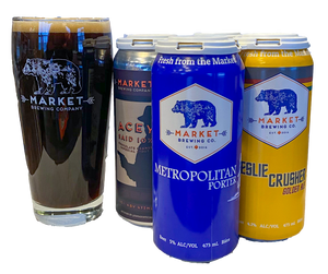 January Mixed 4 Pack w/ 20oz Pint Glass - $22.50