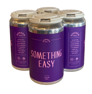 Sonnen Hill & Dominion City - Something Easy Corn Lager - 4.5% - x 4 Pack