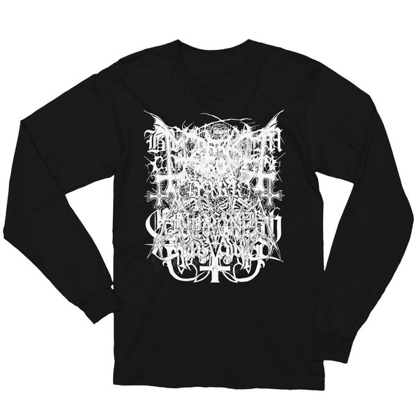 Black Metal Logos Long Sleeve