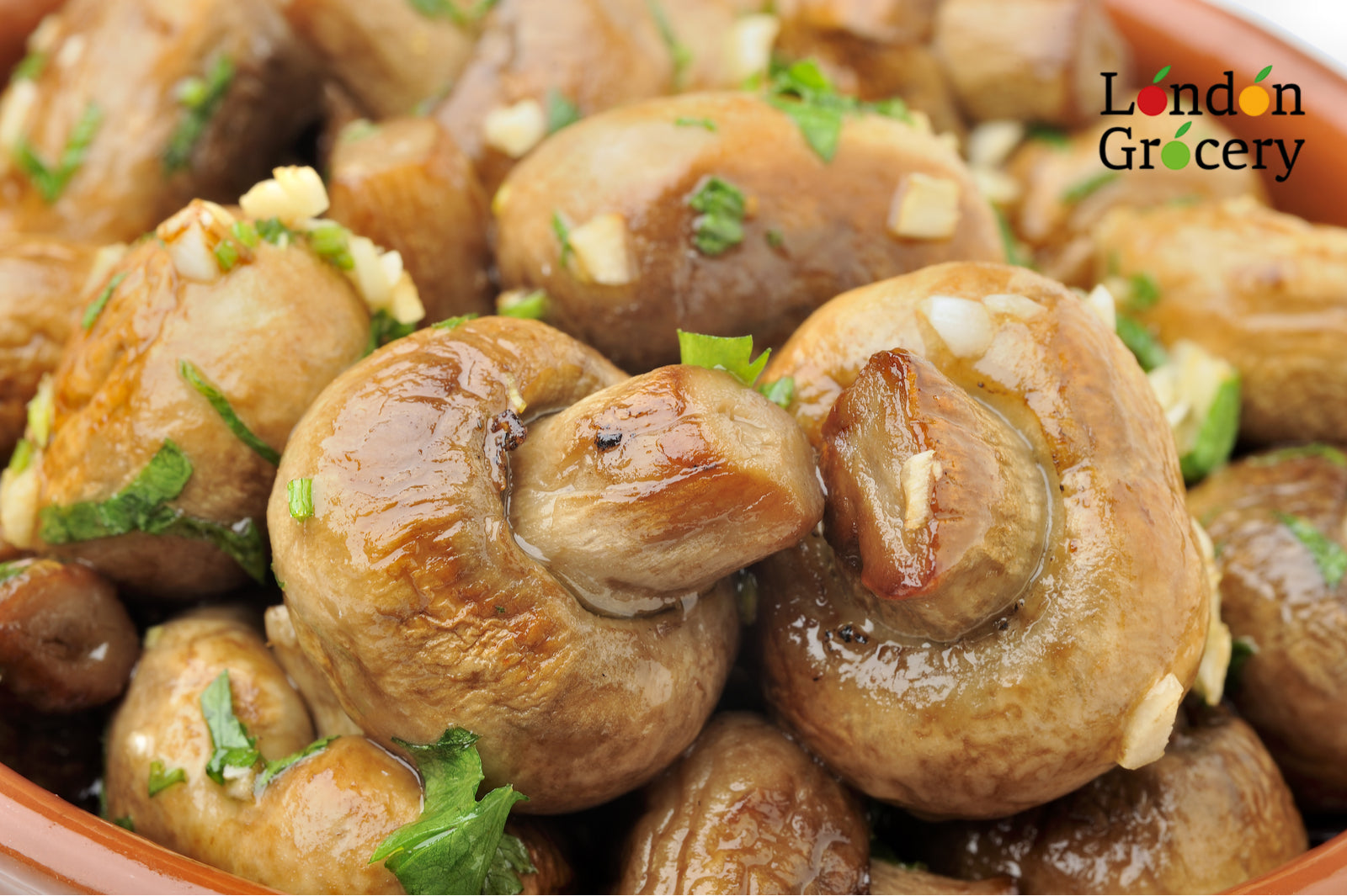 Buy White Button Mushrooms Online | London Grocery
