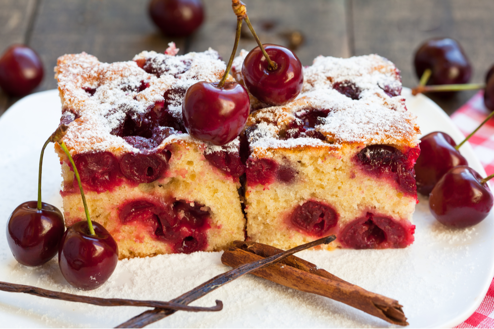 cherry loaf cake