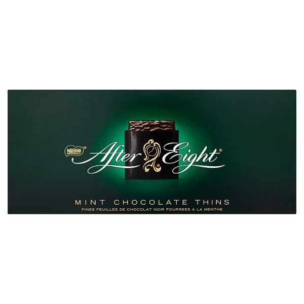 AFTER EIGHT Mint Chocolate Thins Box 800g - London Grocery - Online Grocery Shopping