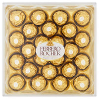 Ferrero Rocher Gift Box of Chocolate 24 Pieces (300g) - London Grocery - Online Grocery Shopping