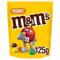 M&M's Peanut Chocolate Pouch 125g*6 - London Grocery - Online Grocery Shopping