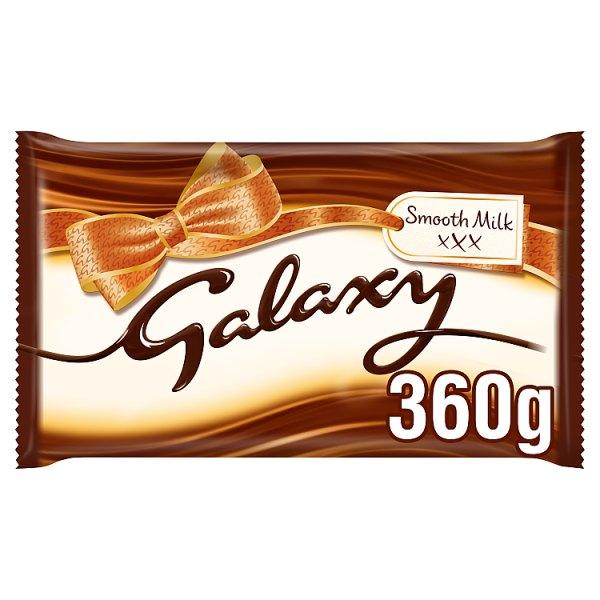 Galaxy Smooth Milk Chocolate Large Gifting Bar 360g*2 - London Grocery
