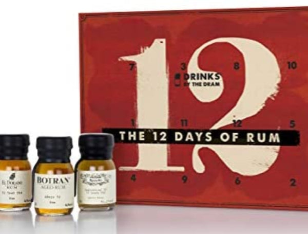 12 Days of Rum Advent Calendar / 12x2cl / 24cl - London Grocery - Online Grocery Shopping