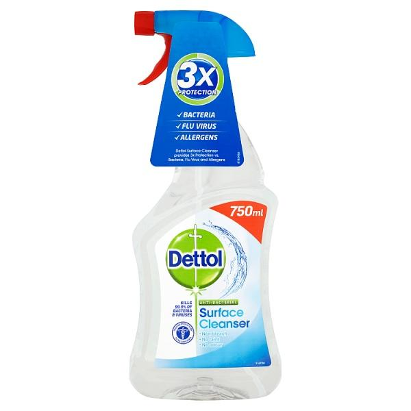Dettol Antibacterial Surface Cleaning Spray, 750ml - London Grocery