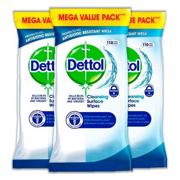 Dettol Antibacterial Surface Cleansing Wipes - London Grocery - Online Grocery Shopping
