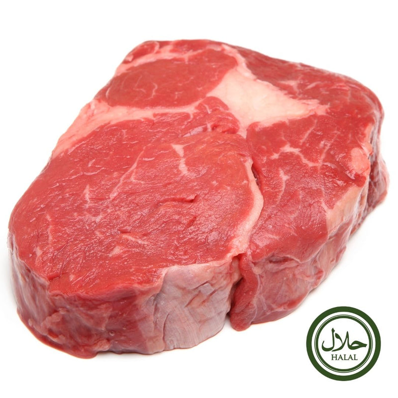 Halal Grass Fed Scottish Ribeye Steak Premium 500 gr - London Grocery