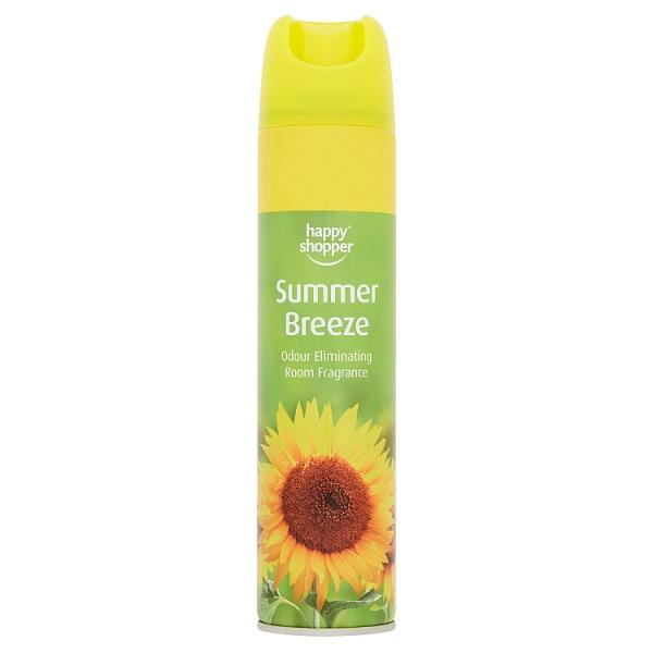 Happy Shopper Summer Breeze Odour Eliminating Room Fragrance 240ml - London Grocery - Online Grocery Shopping