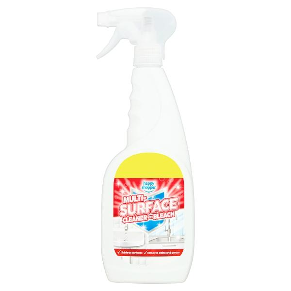 Happy Shopper Multi-Surface Cleaner with Bleach 750ml - London Grocery