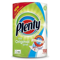Plenty White Kitchen Roll 100 Sheets - London Grocery - Online Grocery Shopping