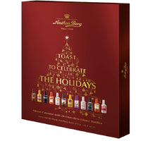 Anthon Berg - Chocolate Liqueurs - Advent Calendar with Famous Liqueur Brands - 24 bottles 375g - With a Delicious Liquid Filling - London Grocery - Online Grocery Shopping