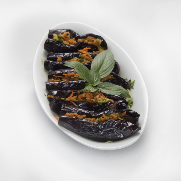 Aubergine Pickle 340 gr - London Grocery - Online Grocery Shopping