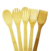 Bamboo Utensils 5 Pieces - London Grocery
