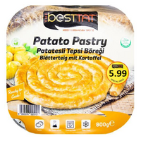 Frozen Besttat Potato Pastry 800gr - London Grocery