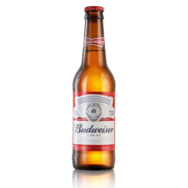 Budweiser Lager Beer, 300ml - London Grocery