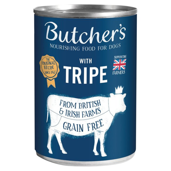 Butcher's Nourishing Food for Dogs with Tripe 1200g - London Grocery - Online Grocery Shopping