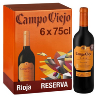 Campo Viejo Rioja Reserva, 75cl (Case of 6) - London Grocery - Online Grocery Shopping