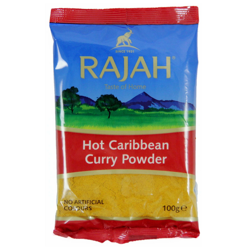Caribbean Curry Powder Hot 100g - London Grocery