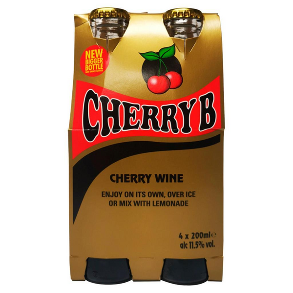 Cherry B Wine Multipack 4 x 200 ml - London Grocery - Online Grocery Shopping