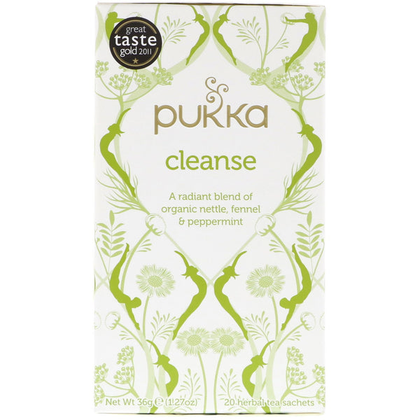 Pukka Organic Cleanse Tea 20 Bags - London Grocery - Online Grocery Shopping