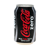 Coca Cola Zero 1 can 330 ml - London Grocery - Online Grocery Shopping
