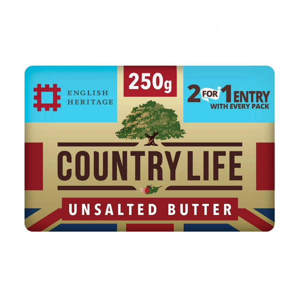 Countrylife Butter Unsalted 250 gr - London Grocery