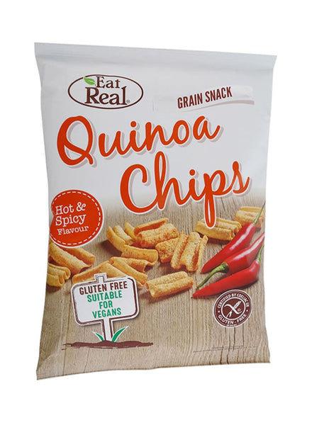 Eat Real Quinoa Hot & Spicy - London Grocery - Online Grocery Shopping