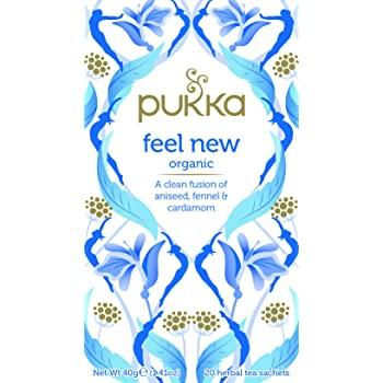 Pukka Organic Feel 20 Bags - London Grocery - Online Grocery Shopping